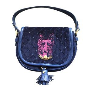 Juicy Couture Velour Scottie Handbag